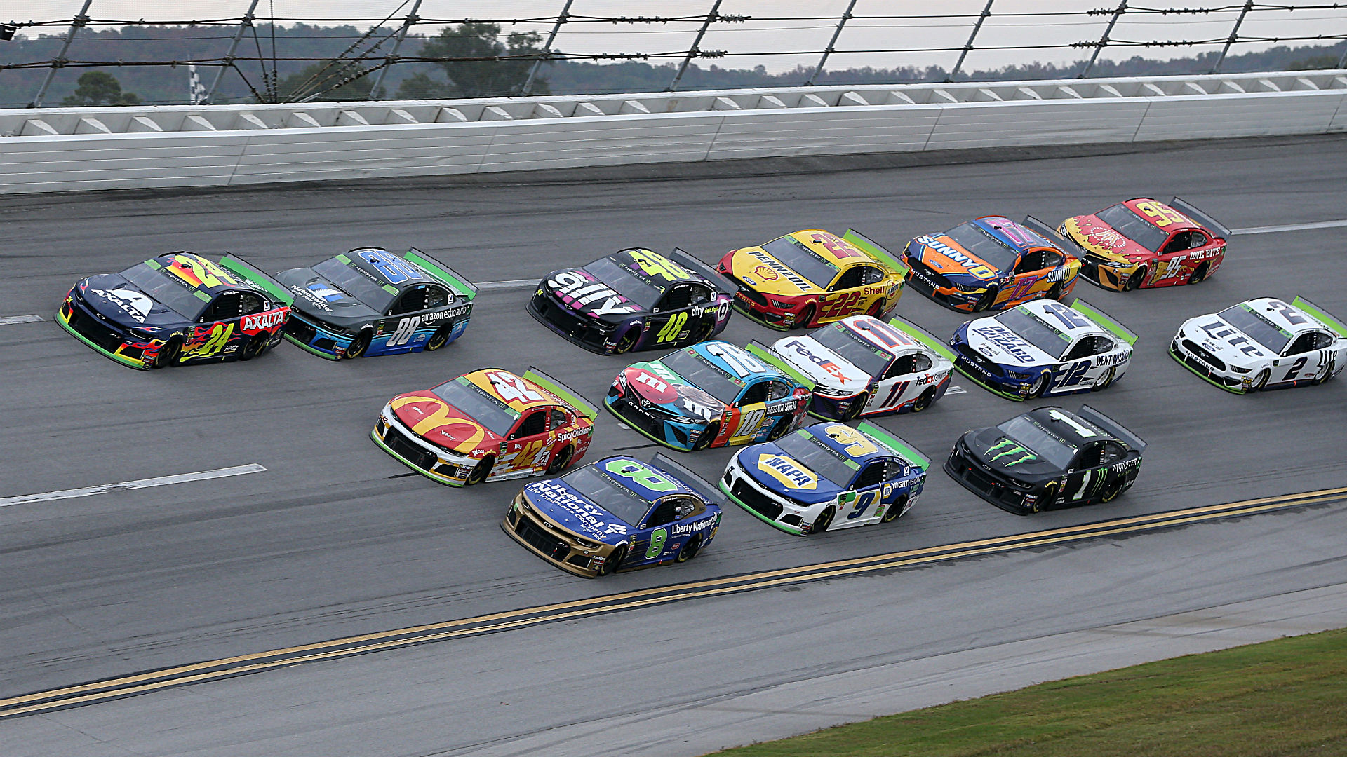 What time does the NASCAR race start today? Schedule, TV channel for Talladega race 1