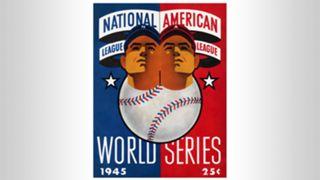 1945 World Series program