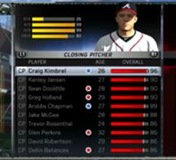 MLB 15: The Show - Top Rated Closers