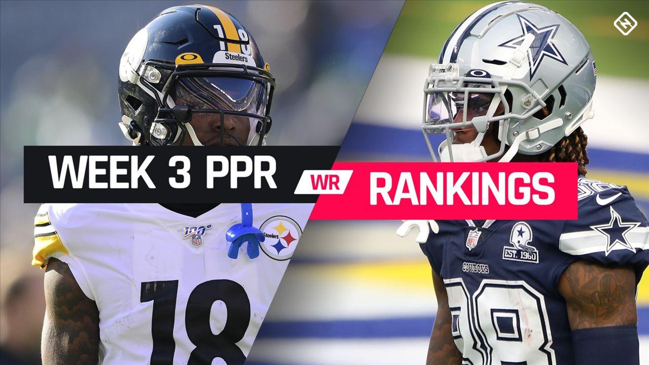 Week 3 Fantasy Football Wide Receiver Ppr Rankings Sporting News