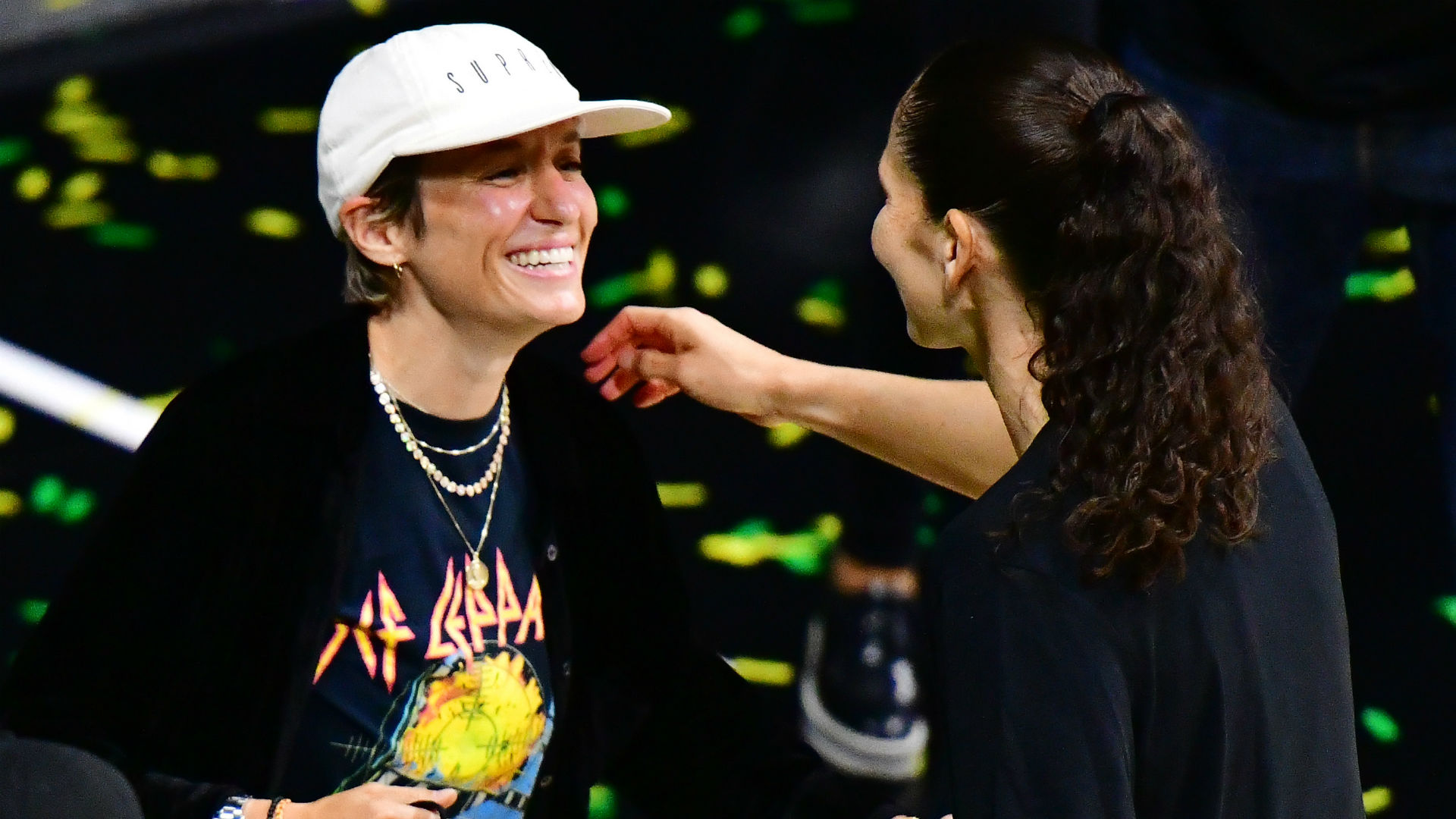 Sue Bird posts captionless proposal photo with Megan Rapinoe on Instagram and fans are freaking out