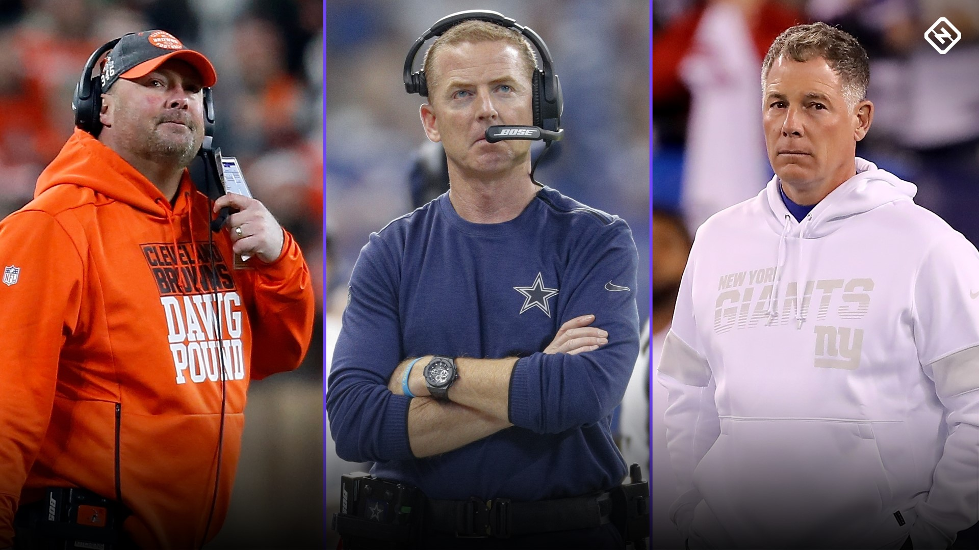 NFL coach hot seat tiers: Cowboys' Jason Garrett, Browns' Freddie Kitchens could be fired next