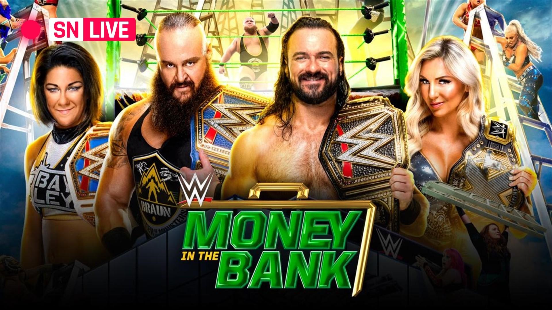 Resultados de WWE Money In The Bank 2020: Otis y Asuka ganan maletines en un partido de escalera completamente ridículo 3