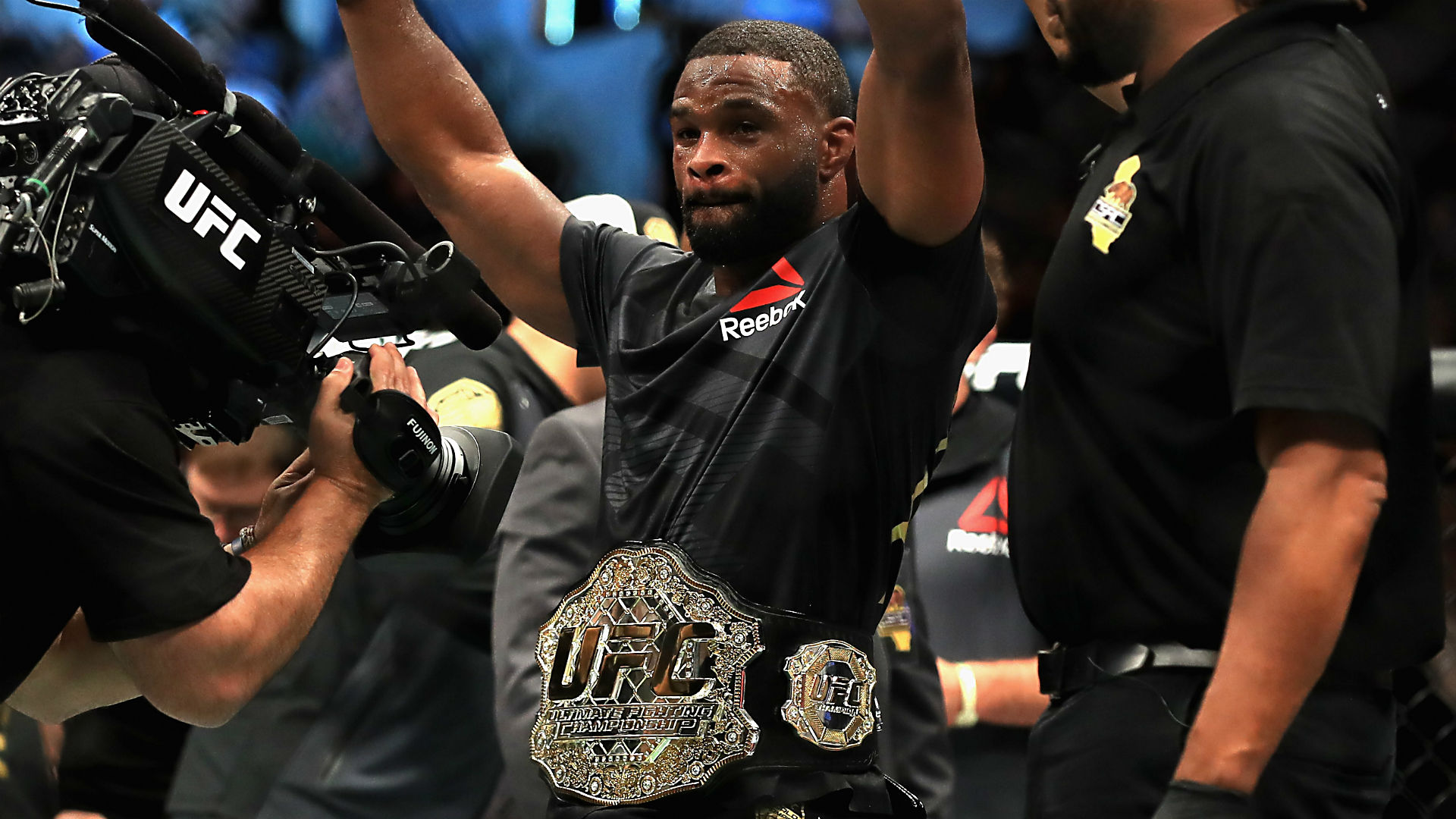 UFC 228: Where is the respect for Tyron Woodley? | Sporting News