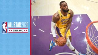 NBA All-Star LeBron James