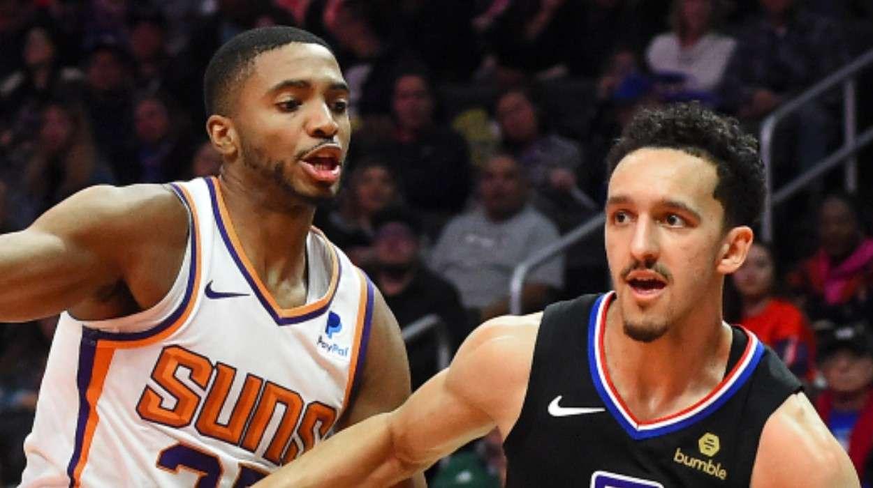 Mikal Bridges Phoenix Suns Landry Shamet Los Angeles Clippers
