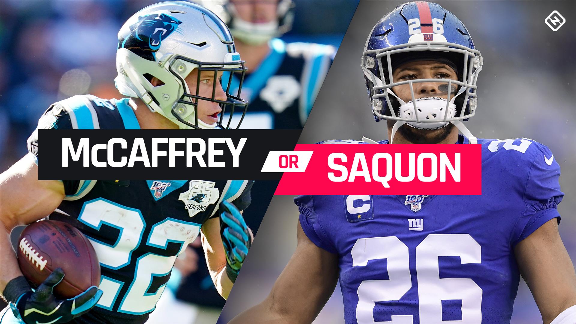 Christian McCaffrey vs. Saquon Barkley: Which top-tier RB should go No. 1 overall in fantasy football?