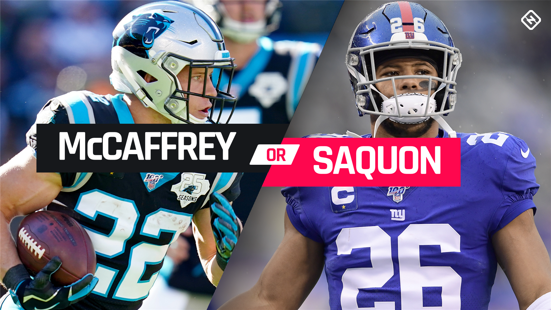 Christian McCaffrey vs. Saquon Barkley: Which top-tier RB should go No. 1 overall in fantasy football? 1