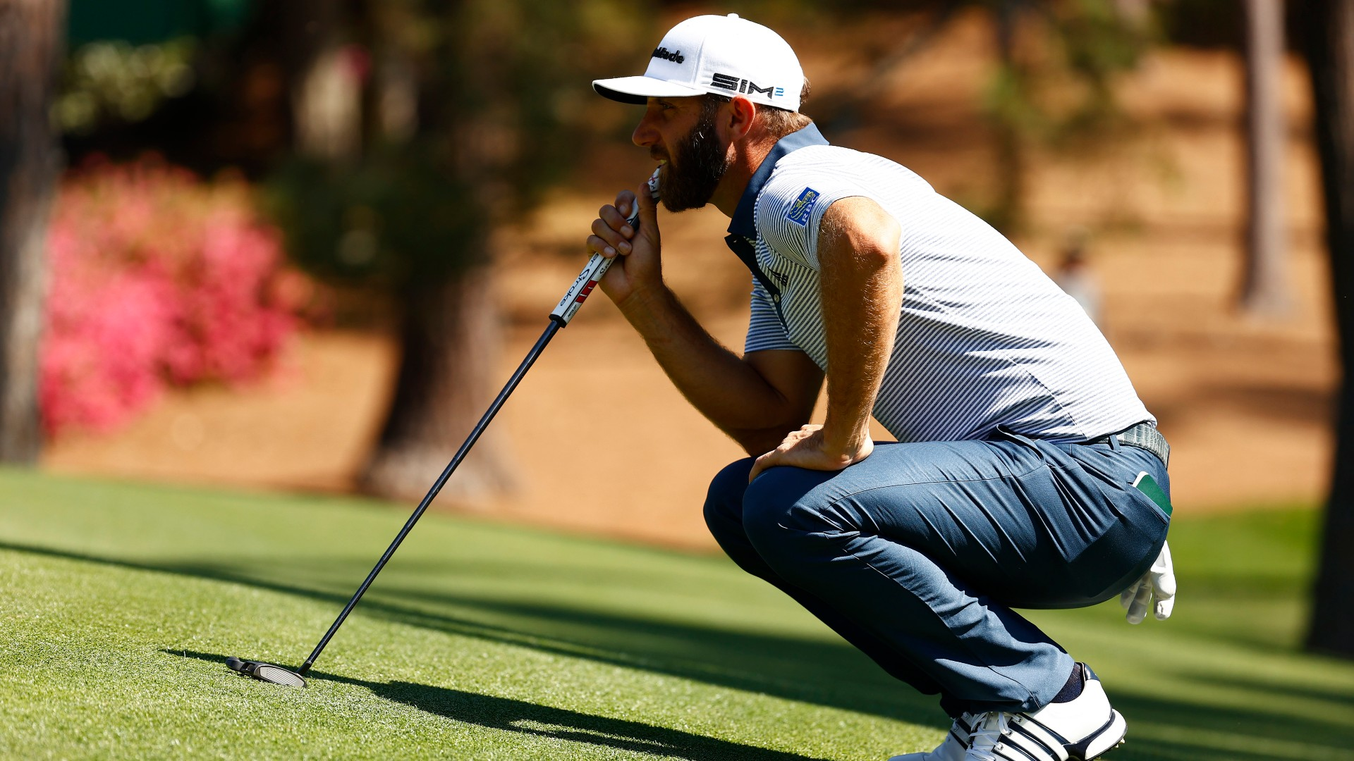 Dustin Johnson misses cut at Masters; 2020 champion blames putting woes