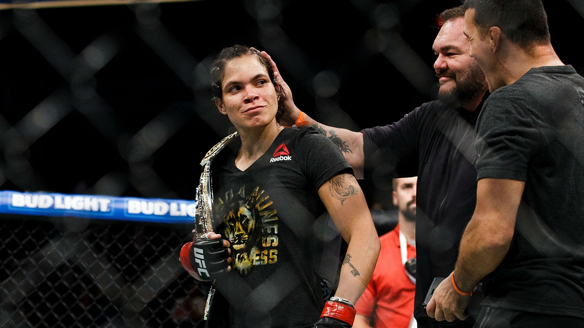Amanda Nunes on speaking to ATT teammate Colby Covington about his behavior: 'Why do I need to talk to him?'