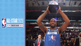 2020 NBA All-Star MVP Kawhi Leonard
