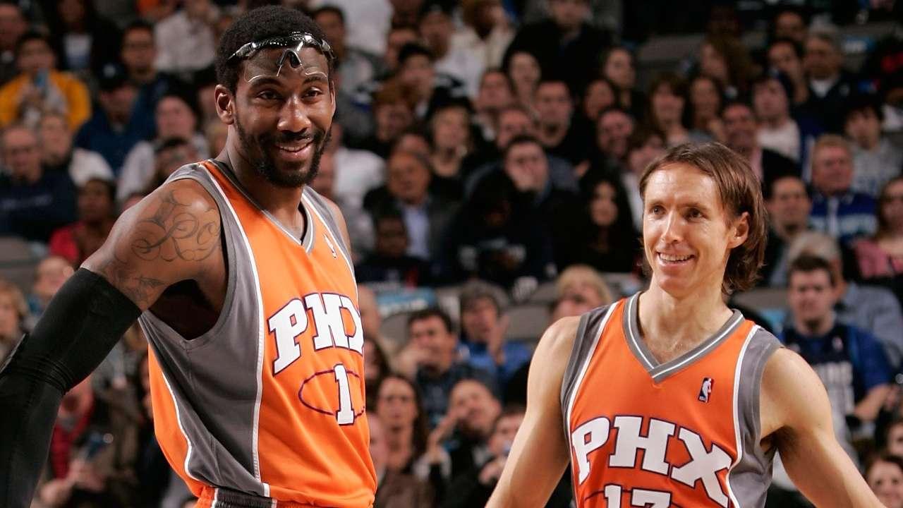 Amar'e Stoudemire Steve Nash Phoenix Suns