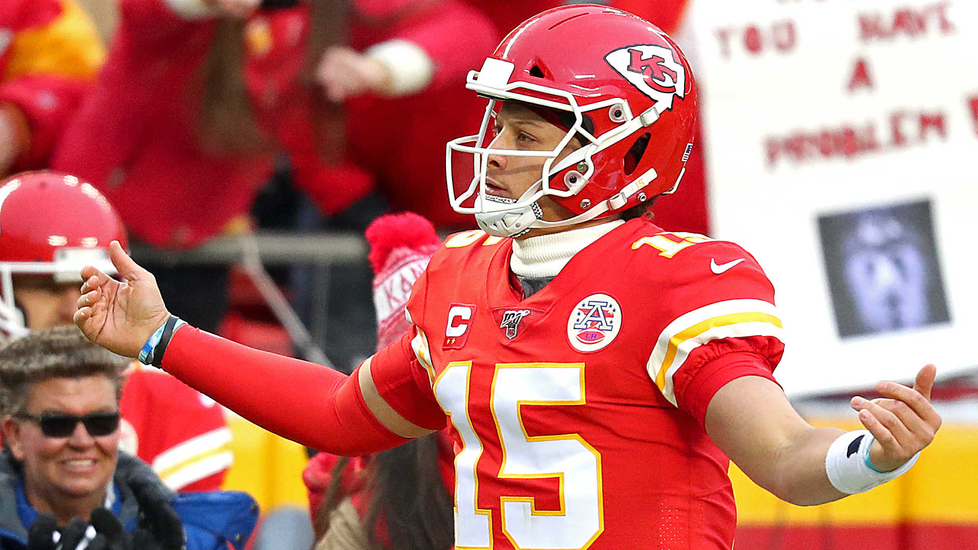 Patrick Mahomes takes notes after coming in fourth again in NFL Top 100