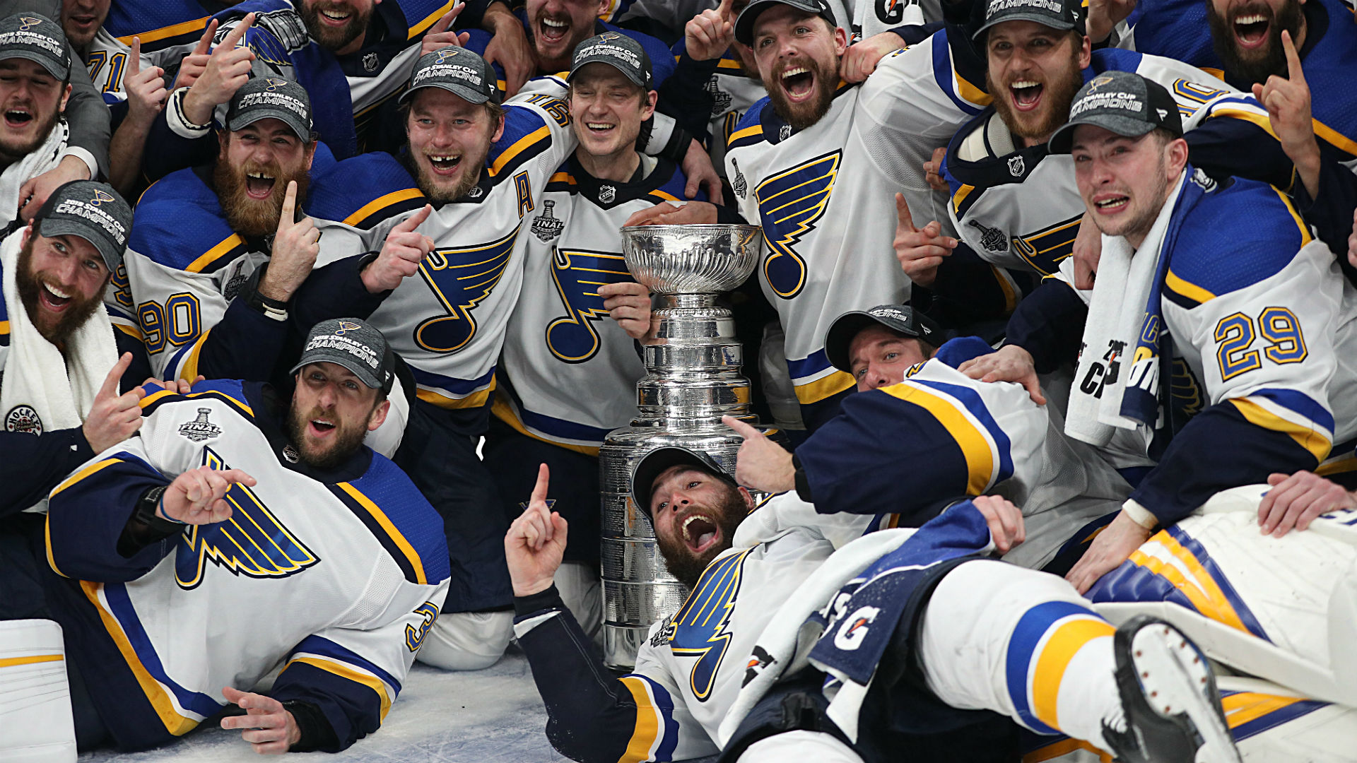 blues louis stanley cup st nhl champions schedule season opening teams getty playoff sporting games start predictions network radio siriusxm