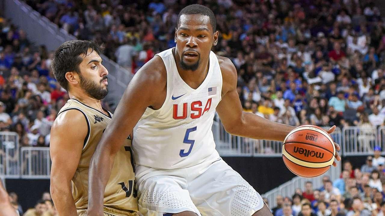 USA Basketball Showcase: Argentina vs. United States