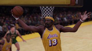 NBA 2K16 1971-72 Lakers Wilt Chamberlain