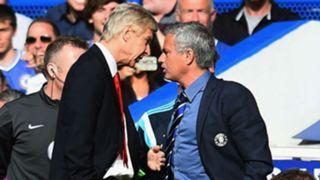 Wenger and Mourinho FTR