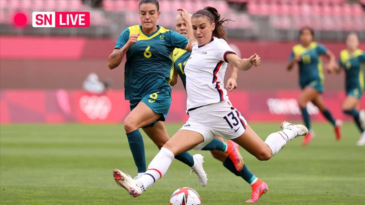 Live - USWNT - Australia - 2021 Olympics