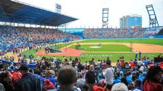 Major League Baseball back in Cuba