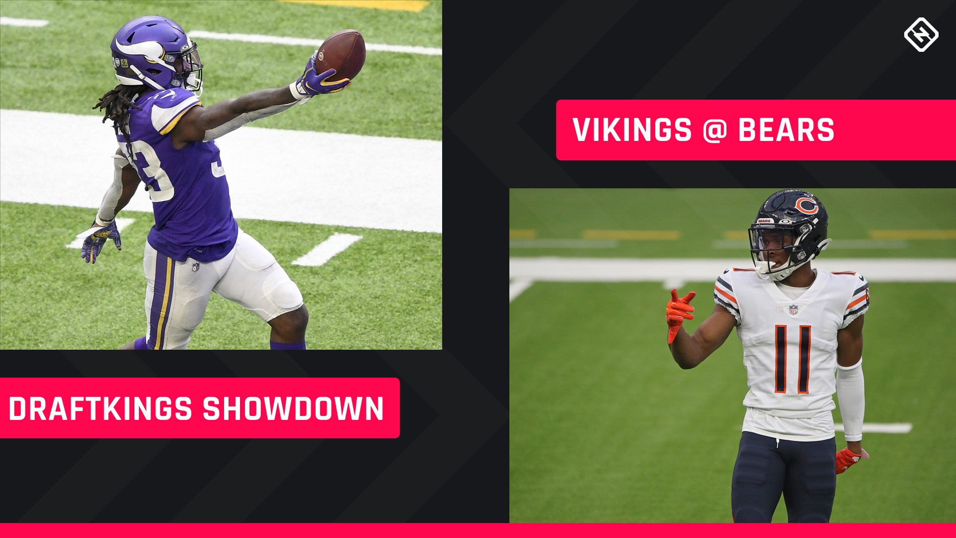 Monday Night Football DraftKings Picks: NFL DFS lineup advice for Week 10 Bears-Vikings Showdown tournaments