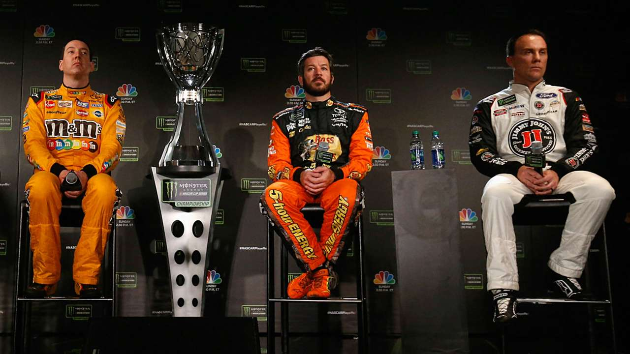 Can one of the NASCAR's Big Three cap off the season with a second title?