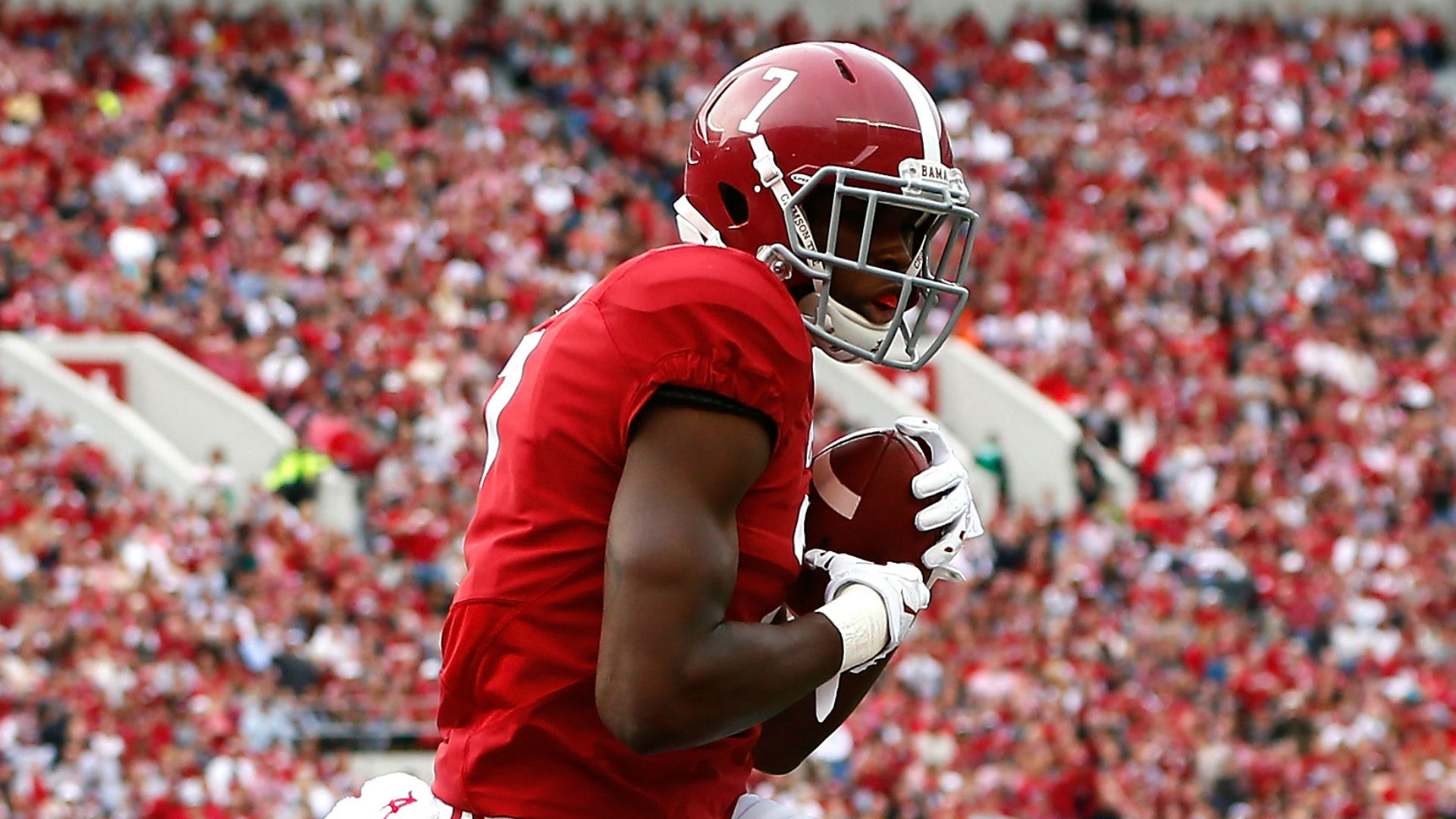 Report: Alabama WR Cam Sims tears ACL at practice   Sporting News