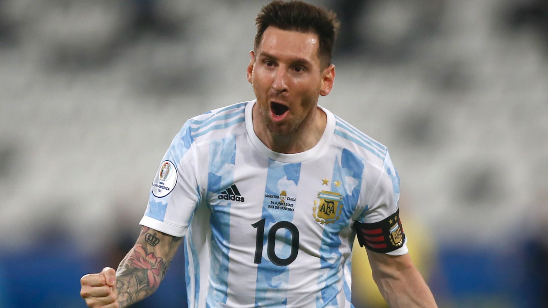 Lionel Messi scores sick free kick goal in 2021 Copa America debut
