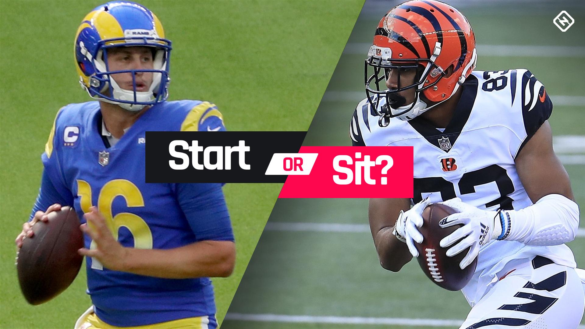 Fantasy Football Start 'Em Sit 'Em: Week 12 lineup advice, matchups, DFS picks