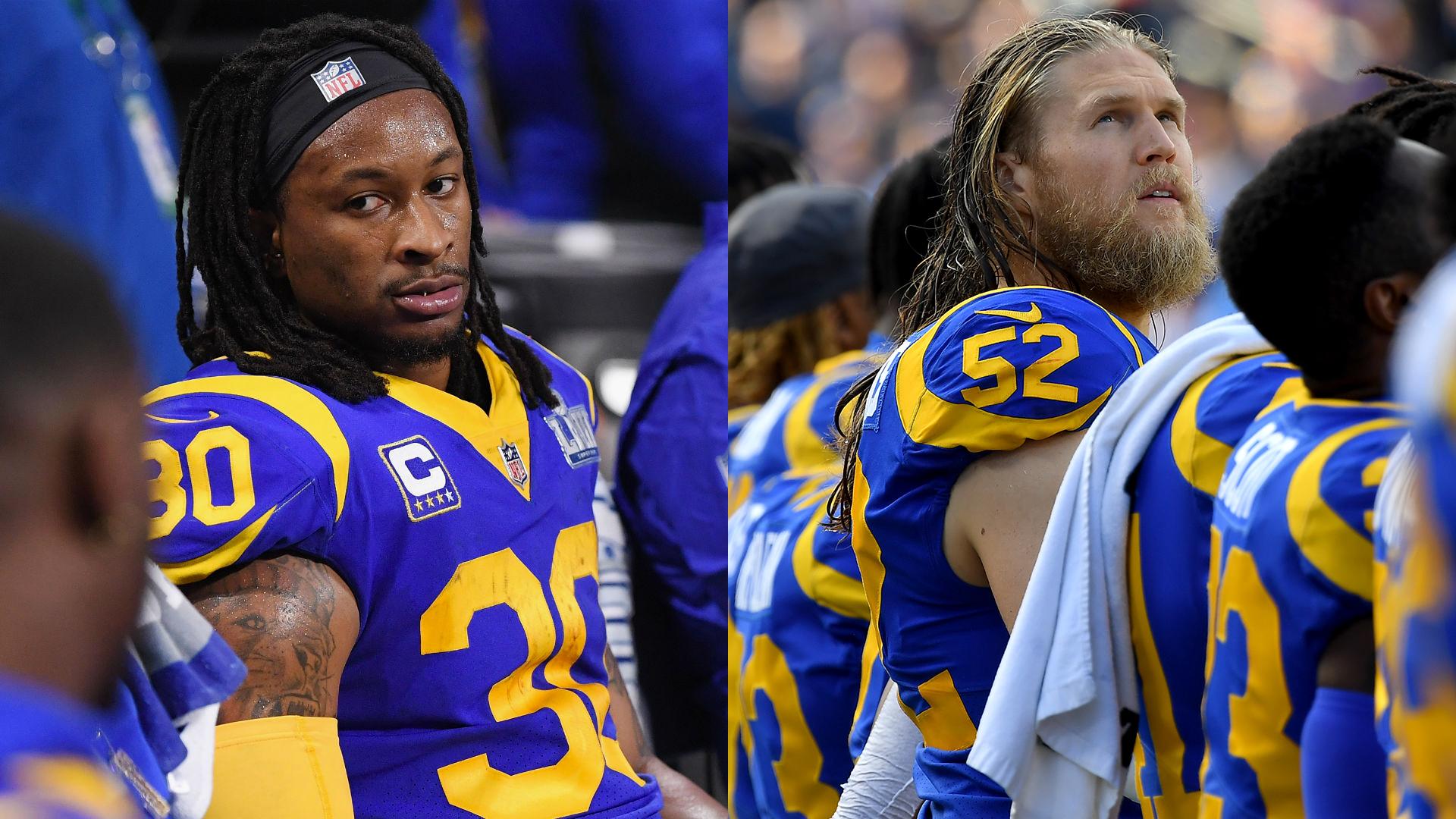 Todd Gurley, Clay Matthews acusan a Rams de retener el dinero adeudado después de los lanzamientos 44