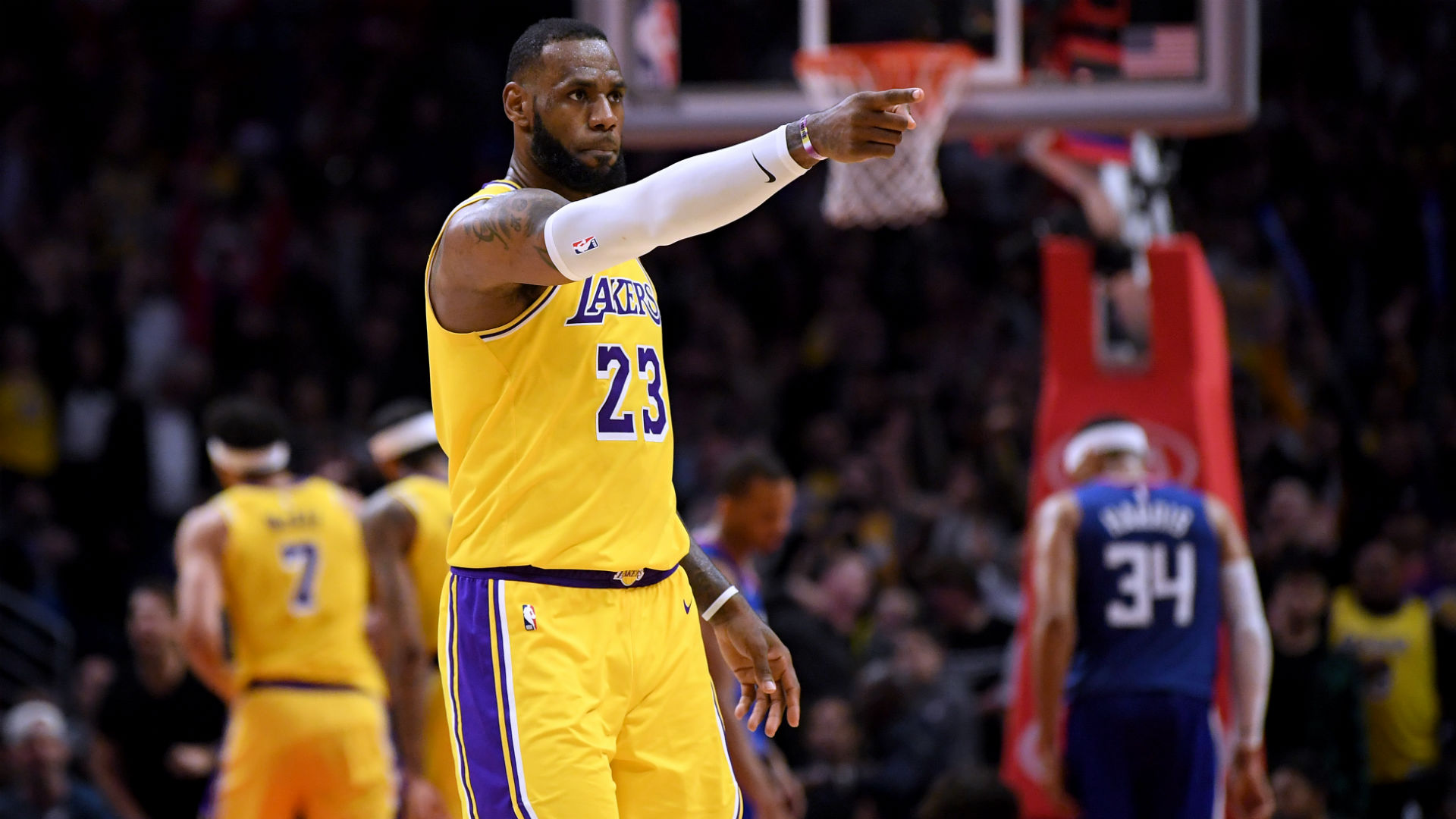 LeBron James age 34 is pointing the way forward for his Los Angeles Lakers