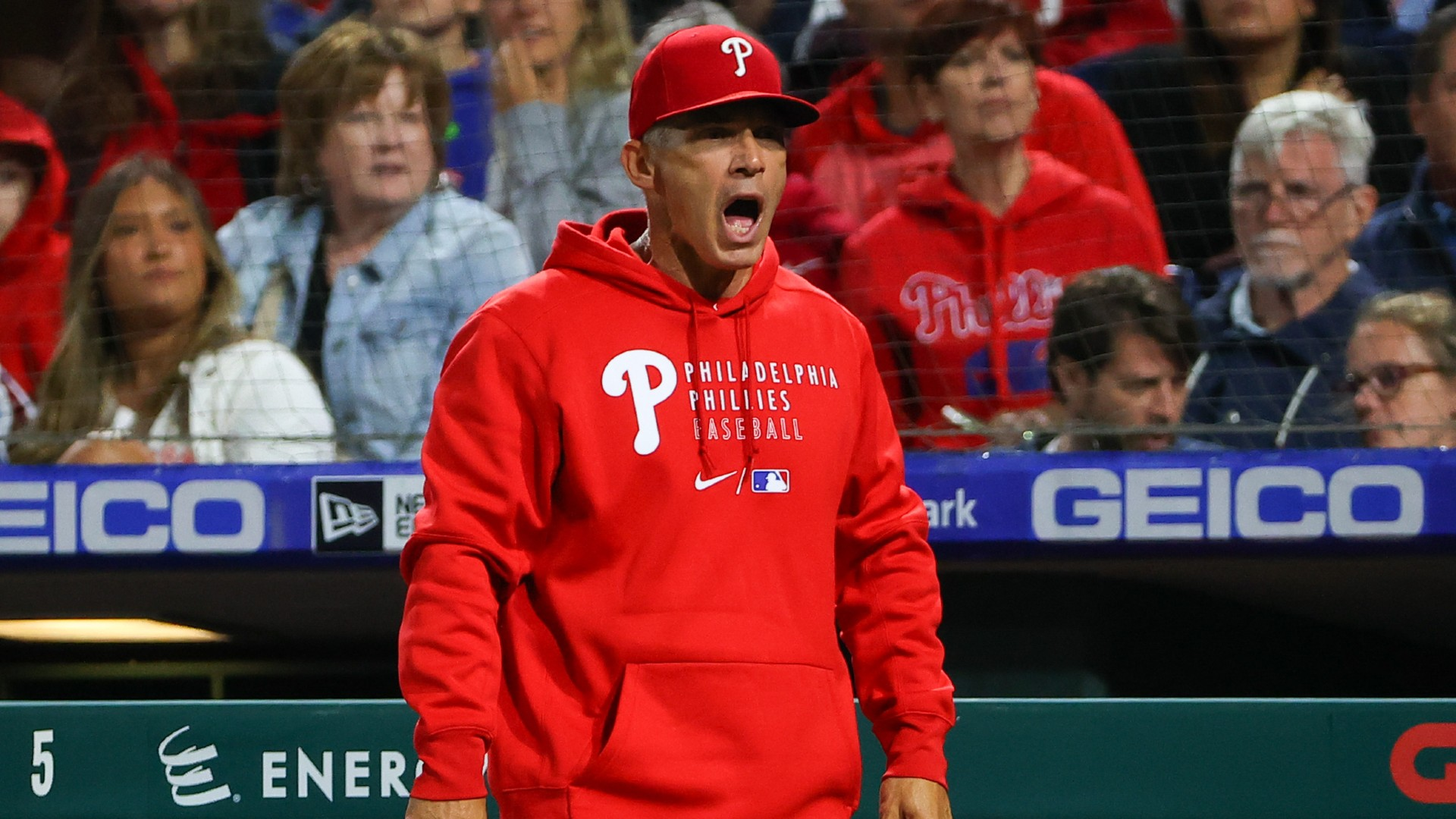 Phillies manager Joe Girardi explains decision to have Max Scherzer searched for sticky material