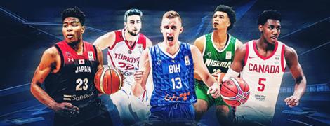 Under 21 stars FIBA Basketball World Cup