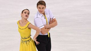 Kristina Astakhova and Alexey Rogonov, Russia