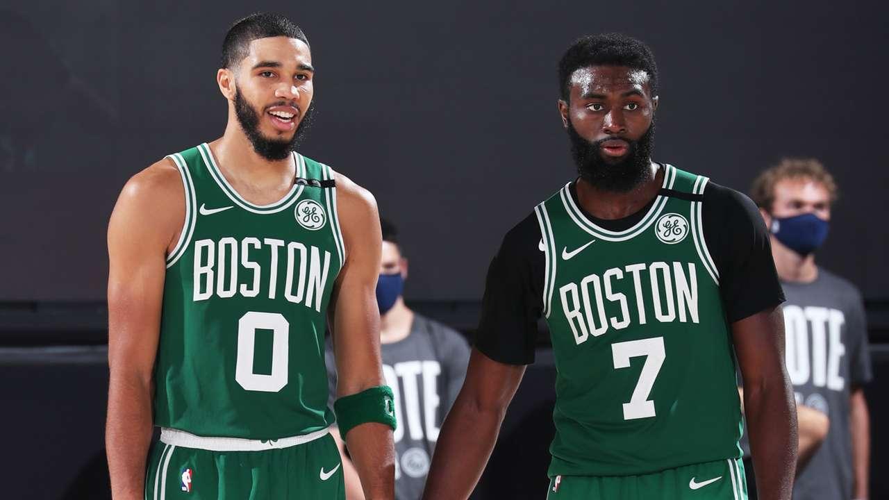 Celtics Jayson Tatum Jaylen Brown