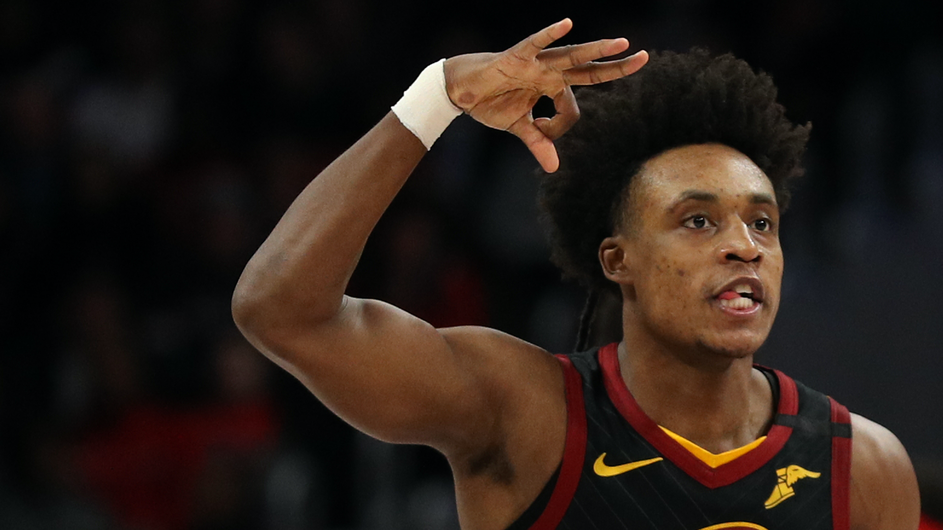 Collin Sexton beats Nets Kyrie Irving James Harden Kevin Durant on his own in double-OT