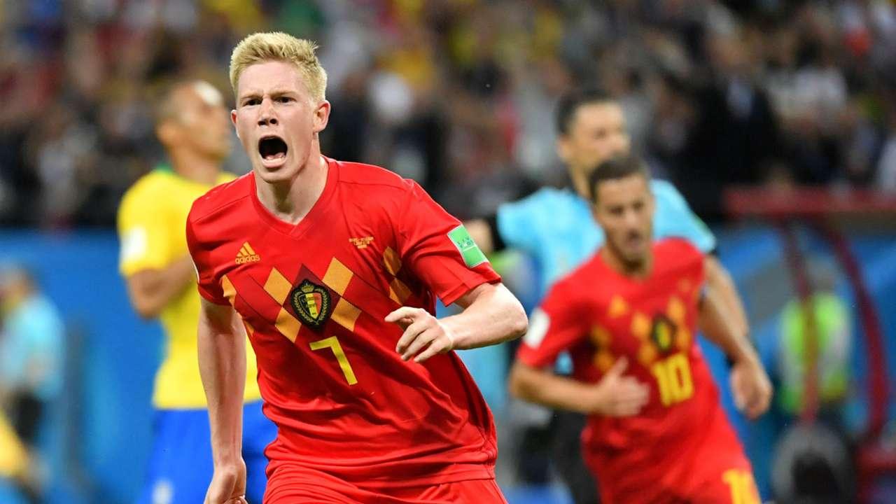 Kevin de Bruyne Belgium World Cup ftr