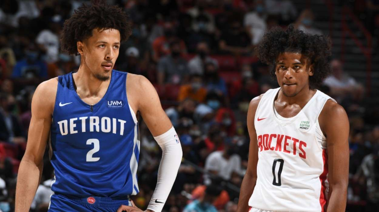 Cade Cunningham Detroit Pistons Jalen Green Houston Rockets