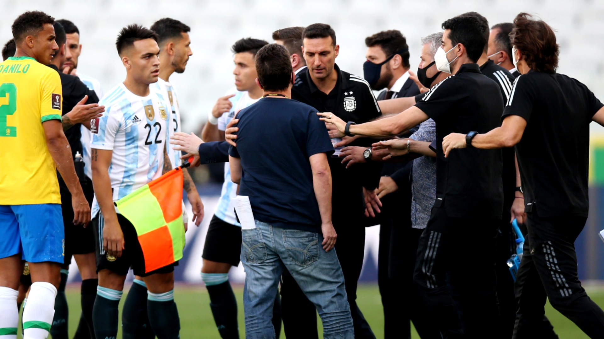 Brazil vs. Argentina suspended: Why World Cup qualifier was not played