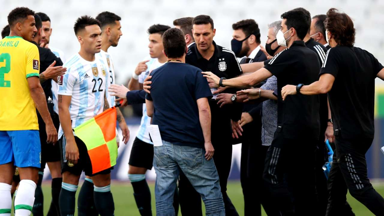 Brazil - Argentina - World Cup qualifier - September 5, 2021