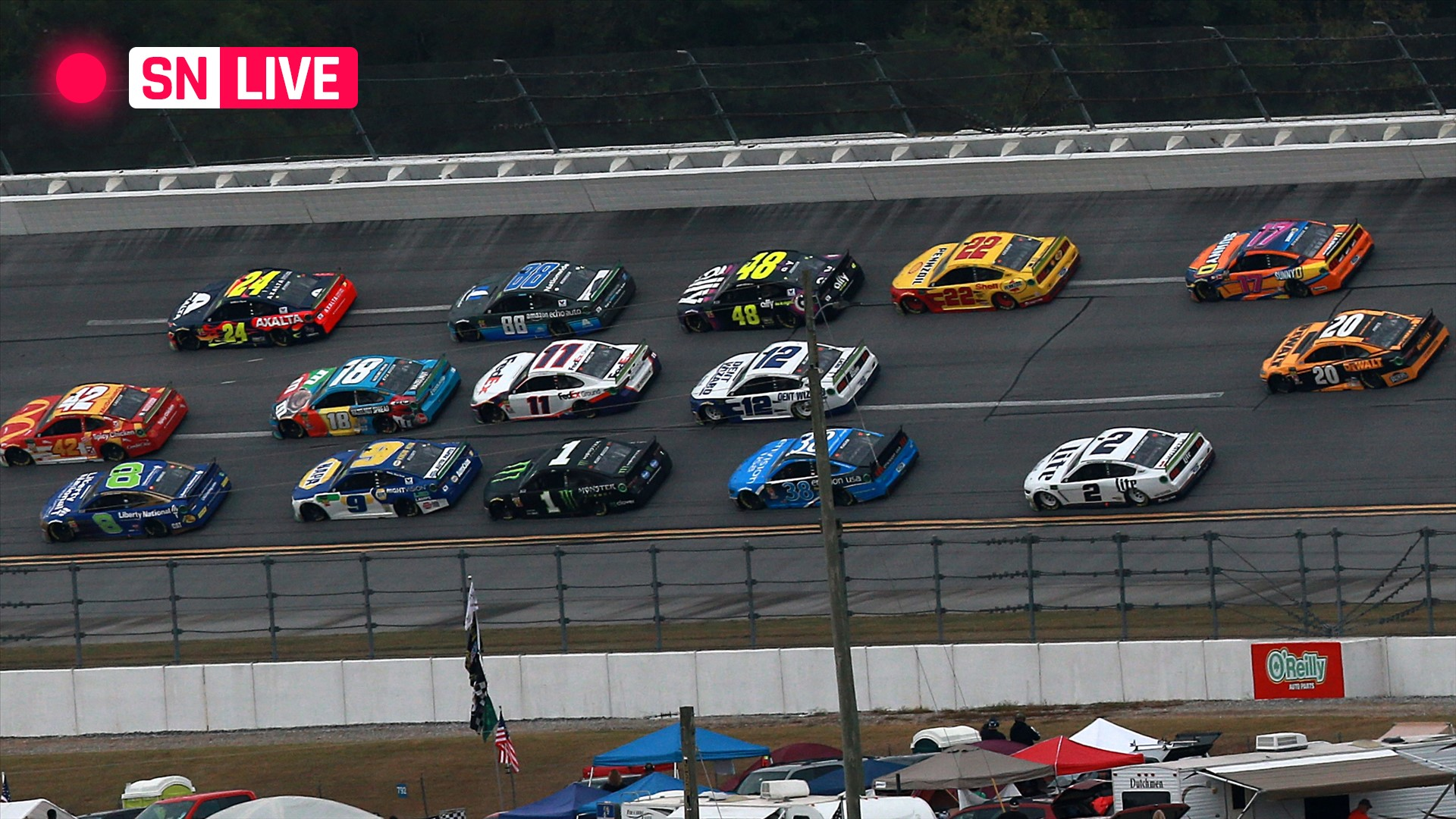 NASCAR at Talladega live race updates, results, highlights from the Geico 500 1