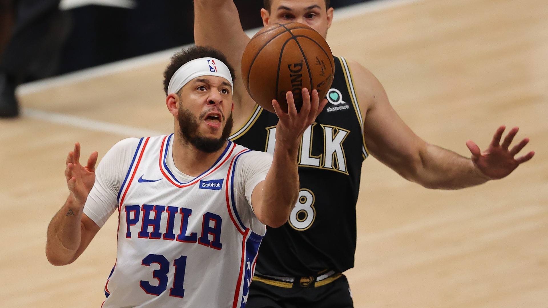 With the 76ers season in balance, Seth Curry and Tyrese Maxey emerge as unlikely Game 6 heroes