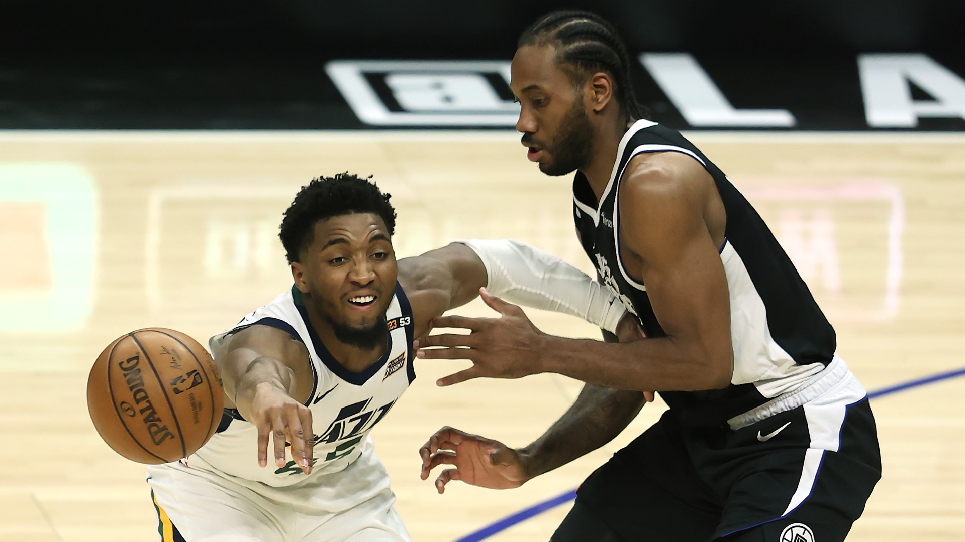 Donovan Mitchell injury update: Jazz star in 'good shape' after tweaking ankle vs. Clippers