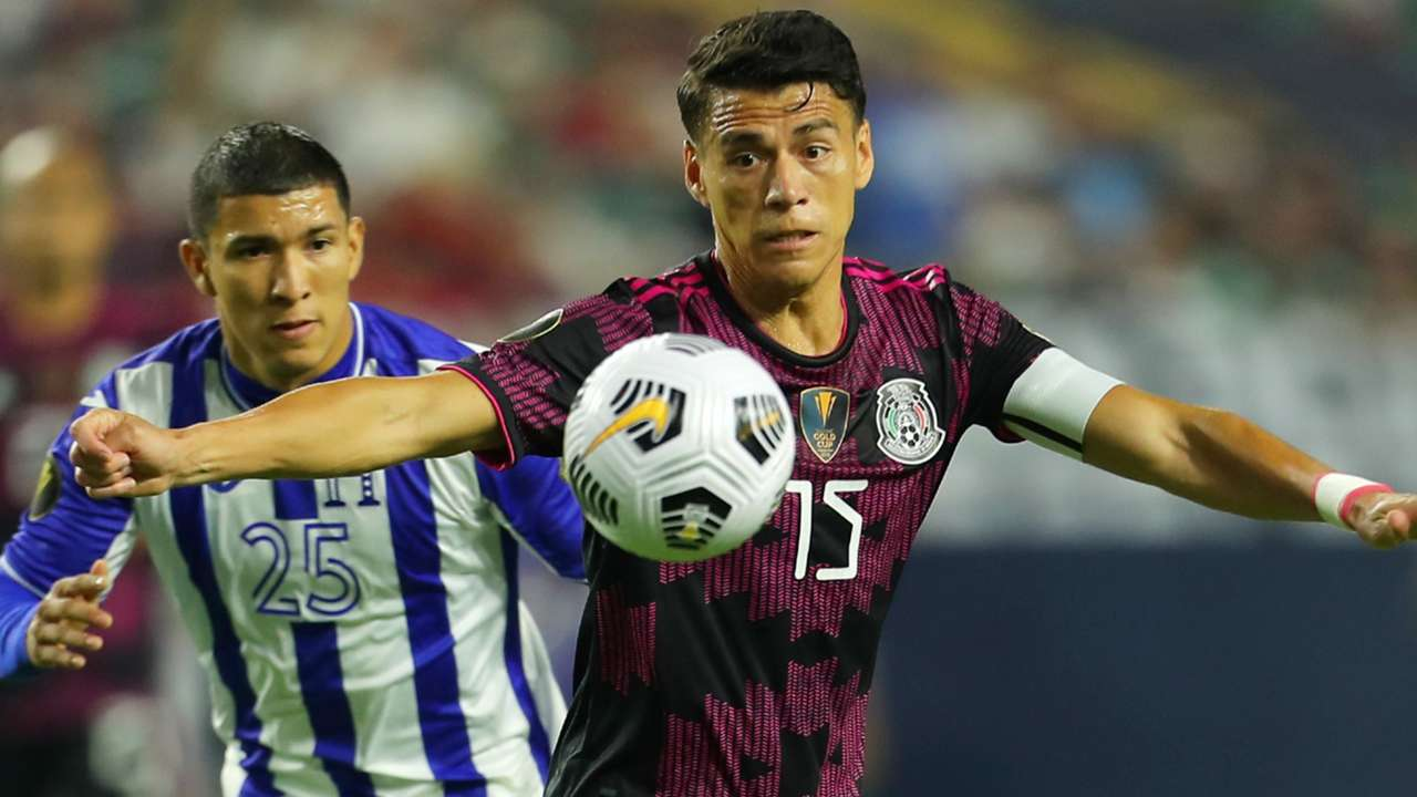 Hector Moreno - Mexico - Kevin Lopez - Honduras - 2021 Gold Cup