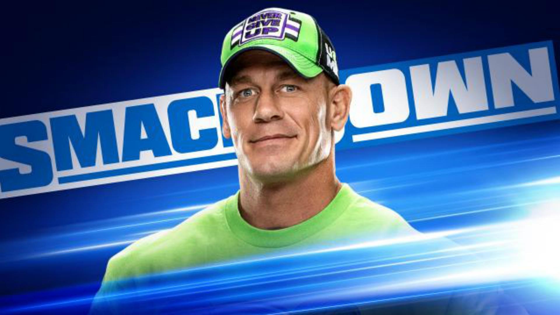 WWE Smackdown en vivo resultados, actualizaciones, aspectos destacados de la primera arena vacía Smackdown con John Cena 1