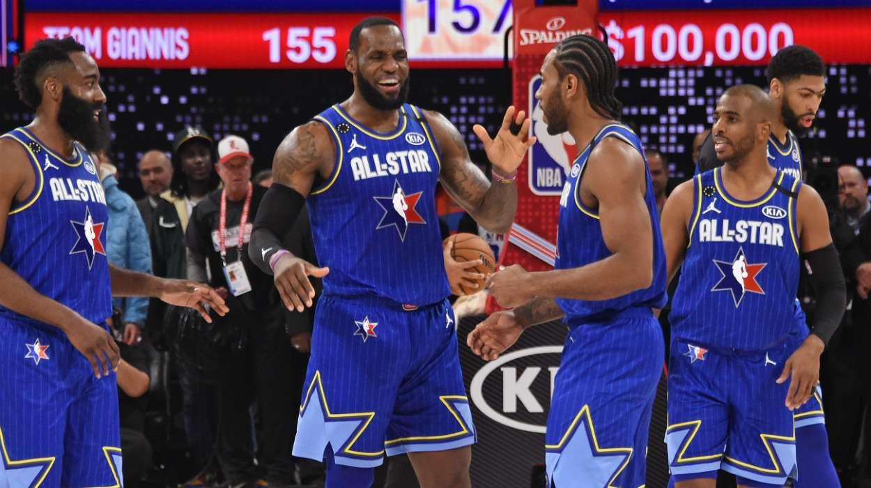 LeBron James Team LeBron 69th NBA All-Star Game