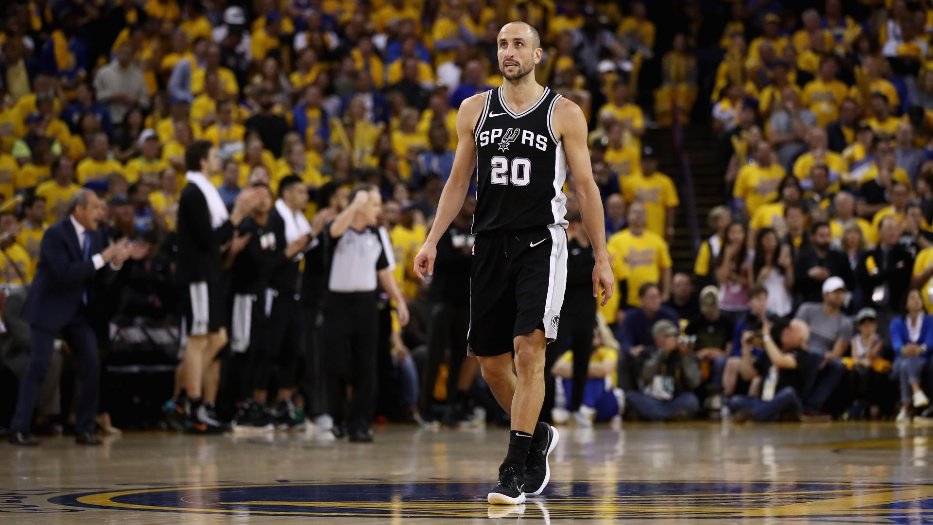 Legenda San Antonio, Manu Ginobili, memperkuat peran front office Spurs yang fokus pada pengembangan pemain
