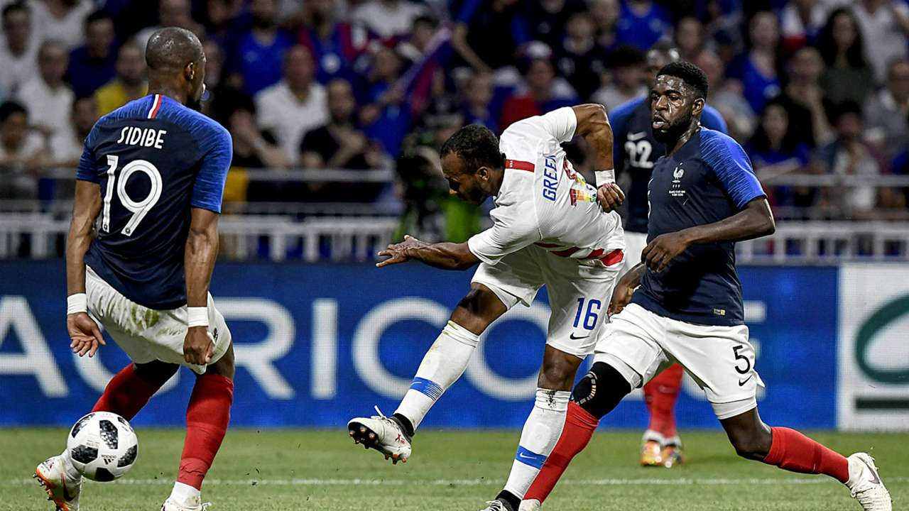 Julian green goal France USMNT friendly FTR