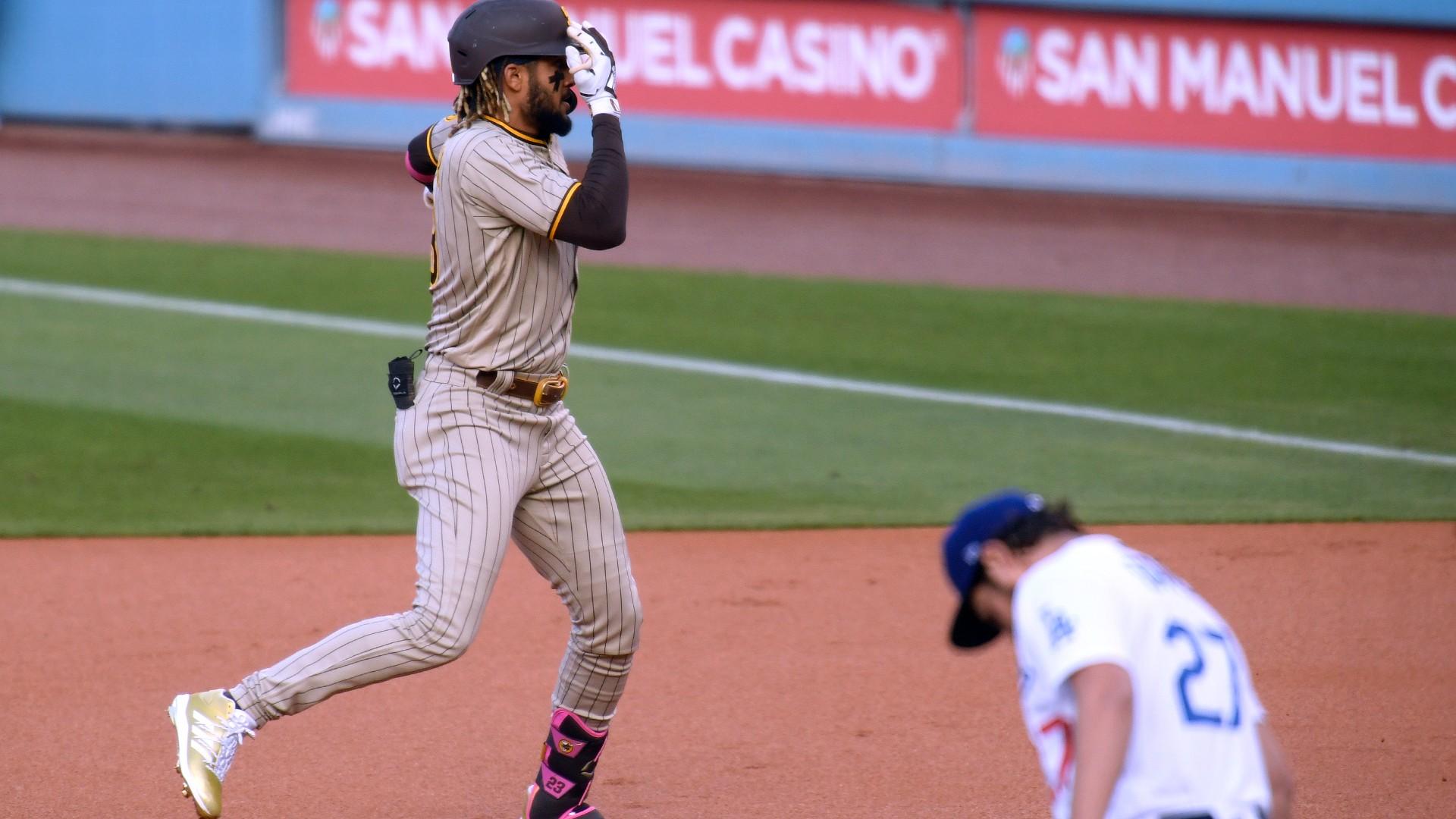 Padres' Fernando Tatis Jr. trolls Dodgers' Trevor Bauer twice after home runs; Bauer's fine with it