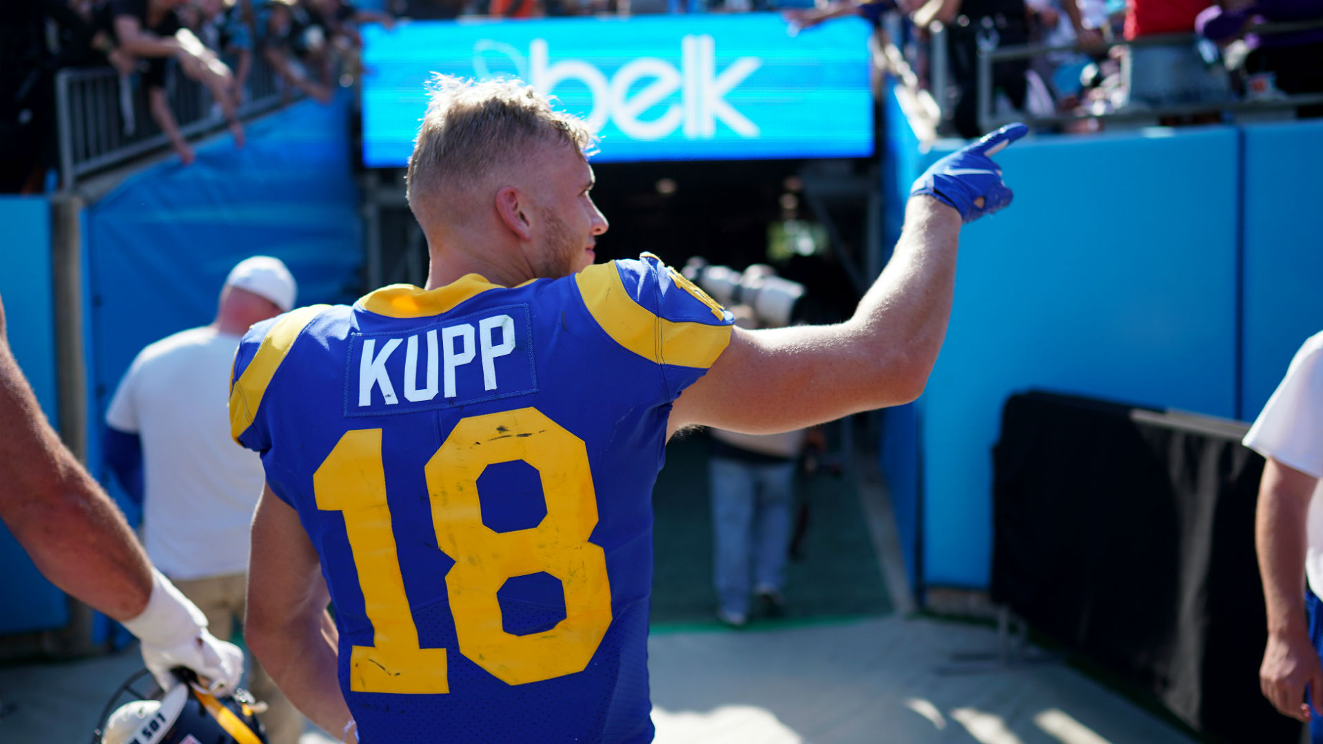 Rams Cooper Kupp Had Special Visitors In Carolina For National Grandparents Day Sporting News