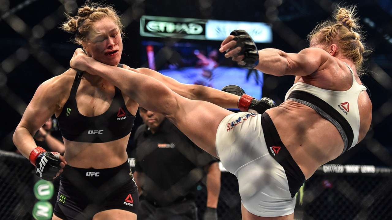 Holly Holm Vs. Ronda Rousey